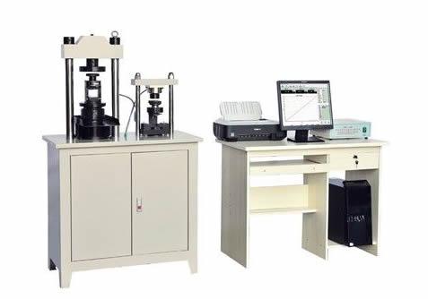 旭联YAW-300C微机控制水泥抗折抗压一体试验机