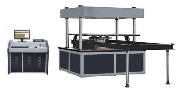 自动化微机控制井盖压力试验机