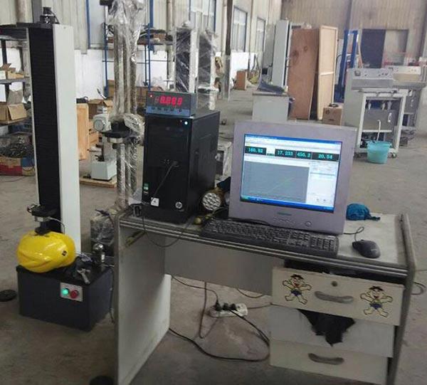 旭联LDW-5000型安全帽侧向刚性测试试验机